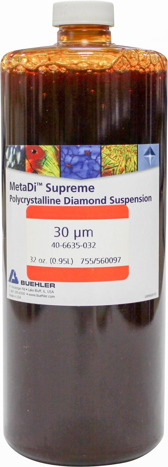 MetaDi Supreme, Poly, 30 µm 32oz-p - JH Technologies