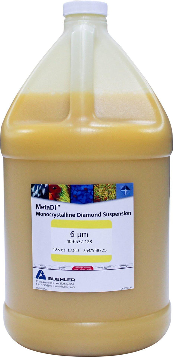 MetaDi Mono Suspension, 6 µm 1 gal-p