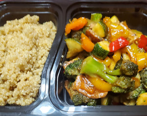 Teriyaki Veggies with Quinoa