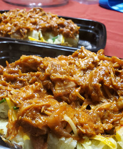 Jackfruit Baked Potato