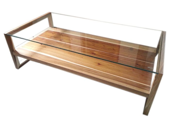Swazi Glass Coffee Table