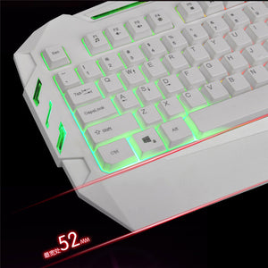 Wired Mini Illuminated Colorful LED Backlight Gaming Keyboard - Smuggle Shop LLC.