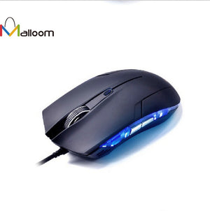 Malloom Cobra Optical 1600 DPI USB Wired Gaming Mouse - Smuggle Shop LLC.