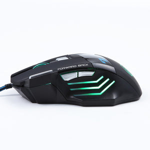 3200 DPI LED Optical 7D USB Wired Gaming Mice - Smuggle Shop LLC.