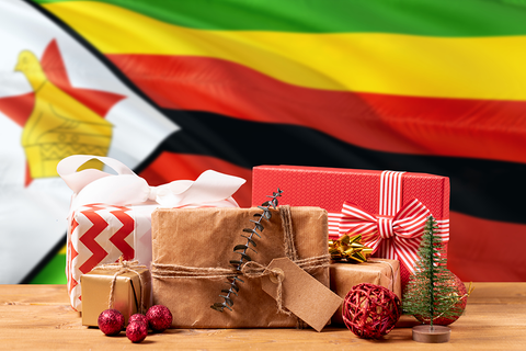Zimbabwe Christmas presents and flag | Christmas songs and carols