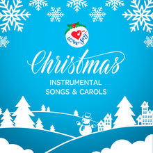 Load image into Gallery viewer, Christmas Songs and Carols Karaoke Album Download and Ebook - Christmas Songs & Carols Love to Sing