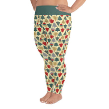 Load image into Gallery viewer, Christmas Leggings | Christmas Tree Design | Plus Size Leggings - Christmas Songs & Carols Love to Sing