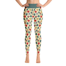 Load image into Gallery viewer, Yoga Christmas Leggings | Christmas Tree Design - Christmas Songs & Carols Love to Sing