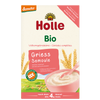 Organic whole grain porridge semolina - Griess Smoule (4m)