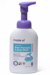 MADE OF Foaming Organic Baby Shampoo & Body Wash