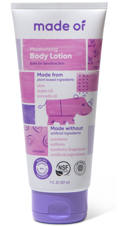 MADE OF Organic Baby Body Lotion - 7oz