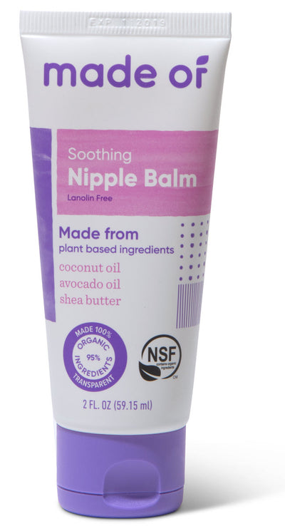 MADE OF Organic Nipple Balm - All Purpose Healing Balm - 2oz