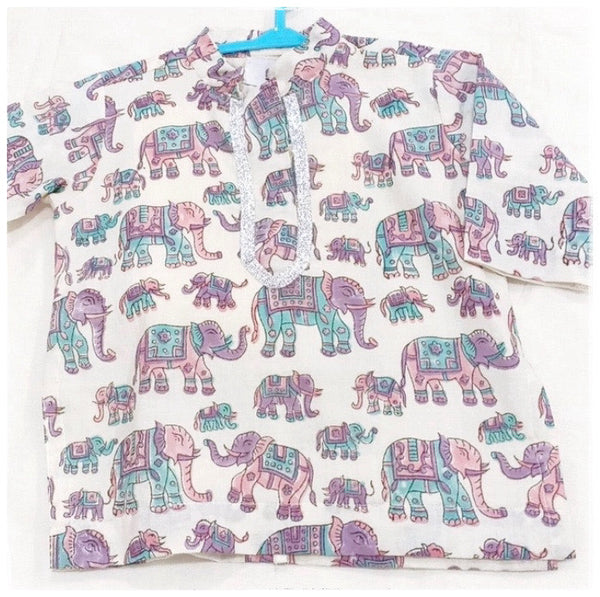 BOYS KURTA - ELEPHANT PARADE