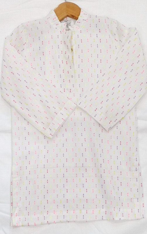 BOYS KURTA - NEON DOT