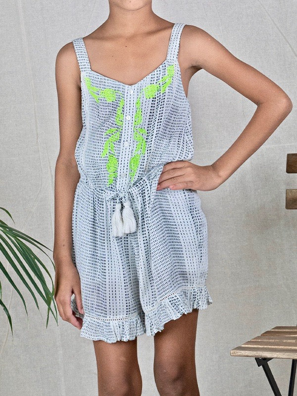 Peggy Playsuit in Kiwi