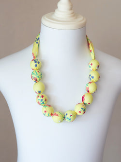 PIXIE BEAD NECKLACE IN SUNSHINE