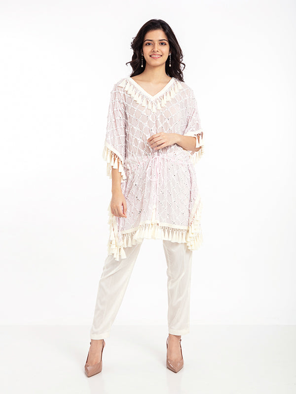BODRUM KAFTAN IN ROSE