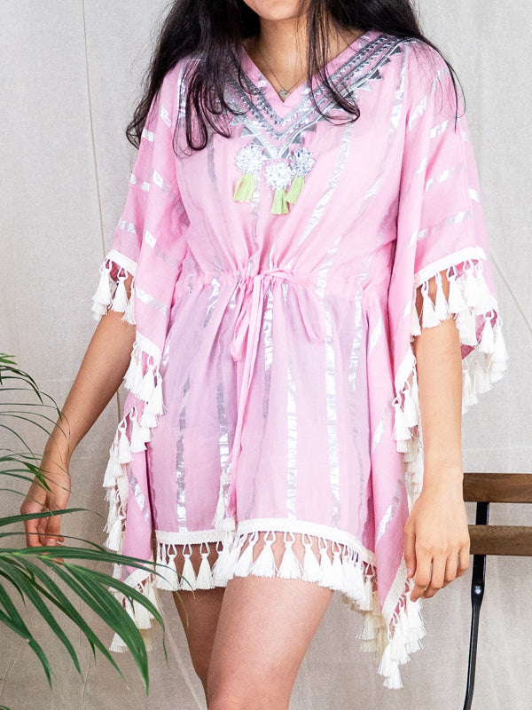 Bodrum Cover-up in Blush