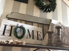 Load image into Gallery viewer, HOME Sign With Wreath