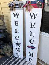 Load image into Gallery viewer, Farmhouse Welcome Sign - Sports