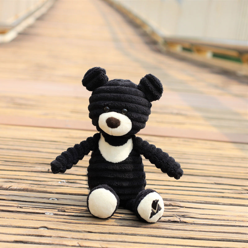 Corduroy plush moon bear (25cm)