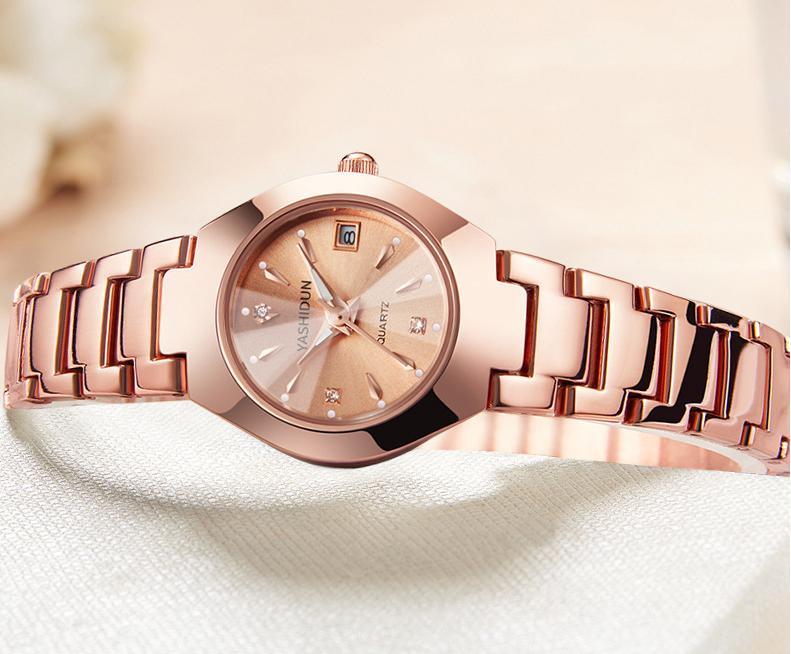【Hot Sale Today! Up to 50% Discount!】 Couple Luxury  luminous waterproof watch business casual design