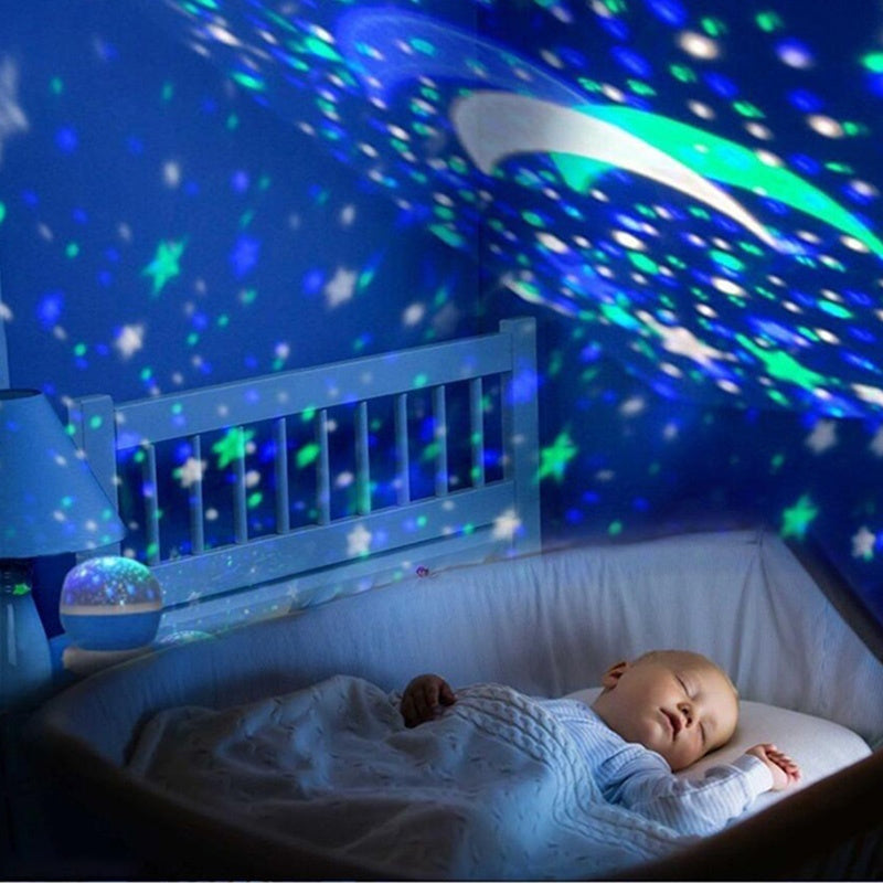 (BUY 2 FREE SHIPPING)LED Lights Moon and Stars Lamp