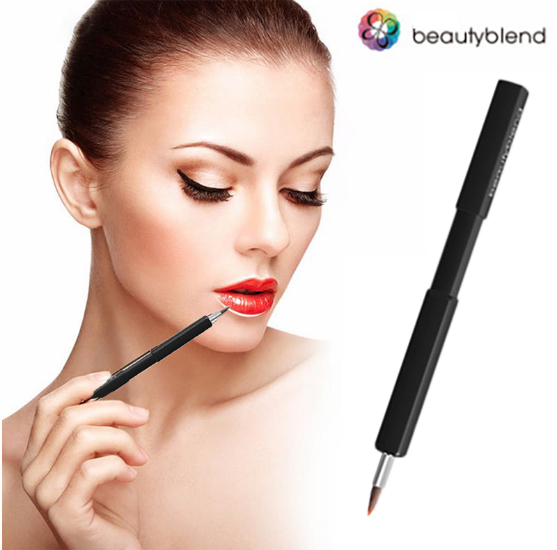 Retractable Lip Brushes Professional Makeup Brushes Portable Make Up Tool