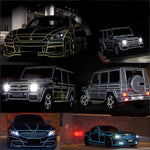 (BUY 3 FREE SHIPPING) Car Reflective Tape Strip