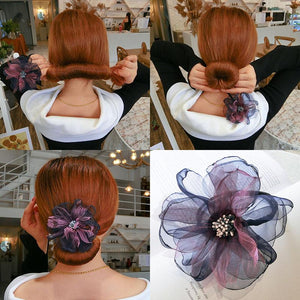 Flower Hair Bun Maker (2PCS)