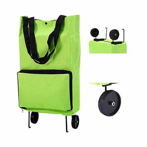 (BUY 2 FREE SHIPPING)Portable Foldable Shopping Cart