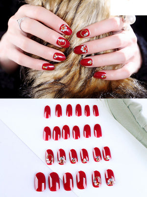 One second wear nail art