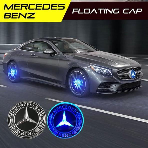 (Save up to 60% OFF)-Magnetic Suspension LED Floating Wheel Cap