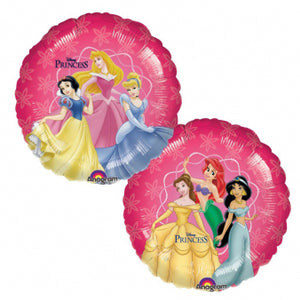 Prinsesser | Disney Princess folieballon Ø43 cm.