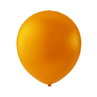 Balloner i orange (latex) 100 stk - 5