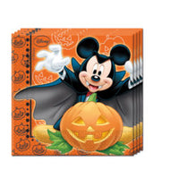 Mickey Mouse Halloween servietter