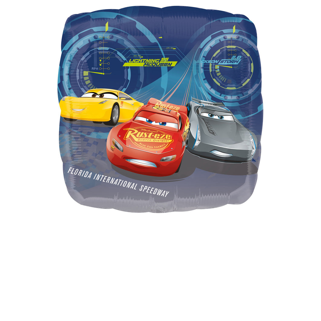 Biler | Cars 3 folieballon