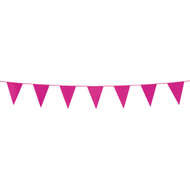 Flagbanner pink (3 meter)
