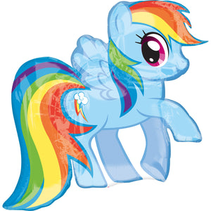 My Little Pony folieballon Rainbow Dash - 71x68 cm