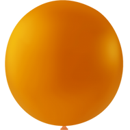 Balloner i orange (latex) 1 stk - 36