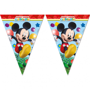 Mickey Mouse flagbanner med 9 flag