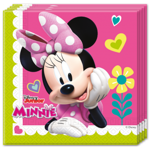 Minnie Mouse servietter 33x33 cm