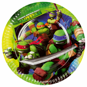 Ninja Turtles tallerkner