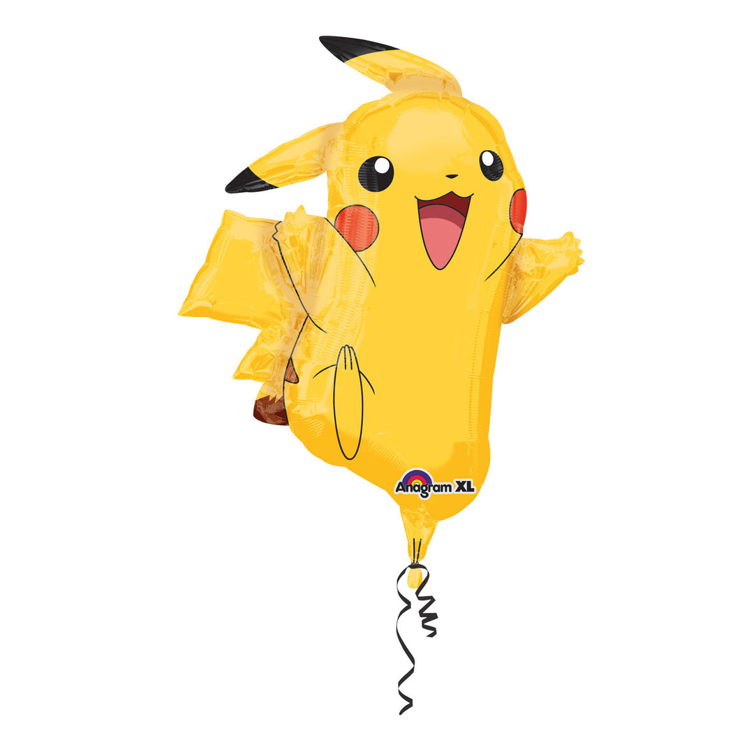 Pokemon Pikachu folieballon