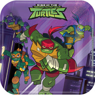 Rise Of The Teenage Mutant Ninja Turtles tallerkner (17,7 cm)