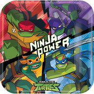 Rise Of The Teenage Mutant Ninja Turtles tallerkner