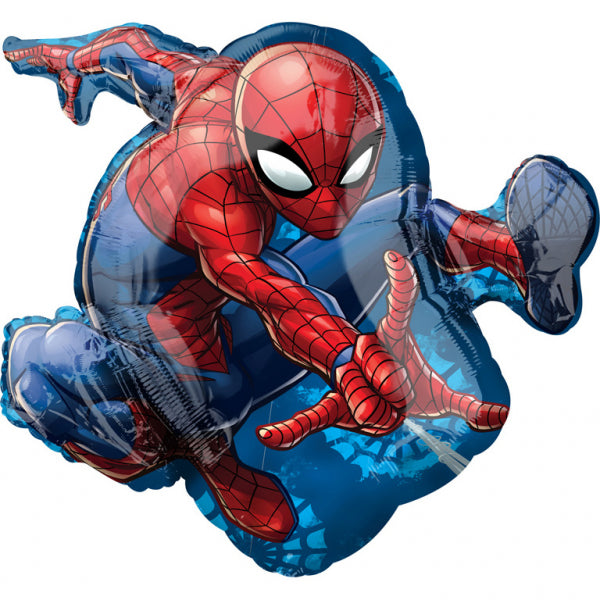 Spiderman folieballon figur 43x73 cm