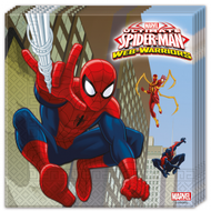 Spiderman servietter 33x33 cm