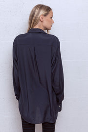 Vivoosh Black Shoulder Pads Shirt