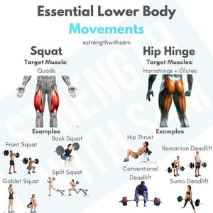 Essential Lower Body Movements for Strength and Growth